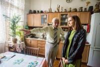 Запис інтерв'ю з поетом Ігорем Калинцем у його львівській квартирі (2014)